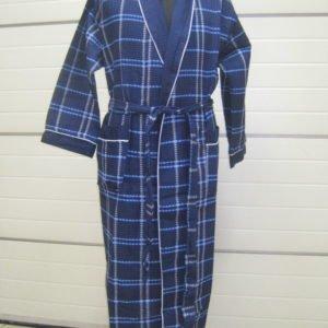 Мужской халат Nusa ns 10050 синий m010892