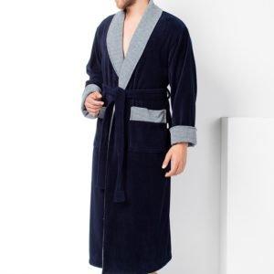 Мужской халат Nusa ns 15140 синий m013609