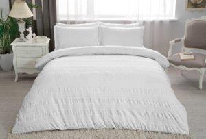 Купить Постельное белье TAC жаккард - Misse beyaz 200x220 (sv-2000022100809) Белый