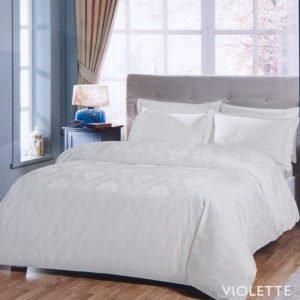 Постельное белье TAC жаккард – Violette ekru 200×220