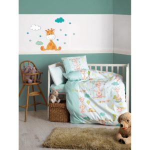 Детское постельное белье Cotton Box Zurafa Yesil 100x150 (CB08007798) Зеленый фото