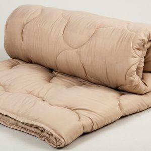 Одеяло шерстяное Lotus Comfort Wool кофе