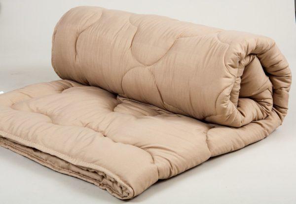Одеяло шерстяное Lotus Comfort Wool кофе  (sv-2000022080446-v) Кофейный фото