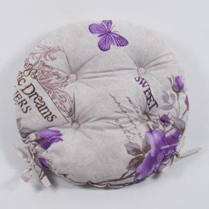 Подушка на стул Lotus круглая  Ella 40 см. диаметр