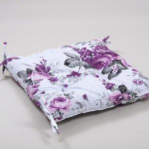 Подушка на стул Lotus Fiona с завязками 45×45