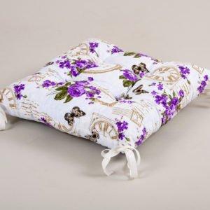 Подушка на стул Lotus Limoges с завязками 45×45