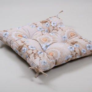 Подушка на стул Lotus Osaka с завязками 45×45