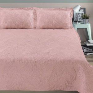 Покрывало Arya Стеганное Blossom Роза (TR1004333-v) Розовый фото