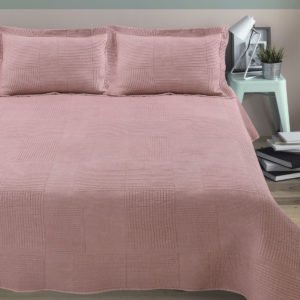 Покрывало Arya Стеганное Elexus Розовый