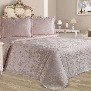 Покрывало Tropik Home Alegra Lavante 200x220 (CB02003333) Розовый фото