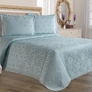 Покрывало Tropik Home Alegra Mint 200x220 (CB02003332) Голубой фото