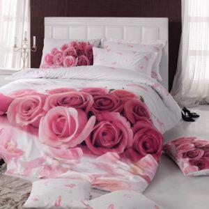 Постельное белье 3D Cotton Box Darling Pembe 200x220 (CB010077210) Розовый фото