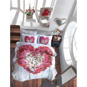 Постельное белье 3D Cotton Box Garden Vizon 200×220