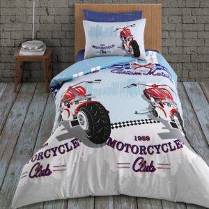 Постельное белье Arya Ранфорс Подростковое Racing 160×220