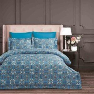 Постельное белье Arya Fashionable Tolerdo 200x220 (TR1004064) Голубой фото