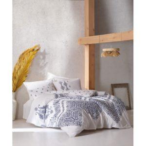 Постельное белье Cotton Box Adonis Indigo 200×220