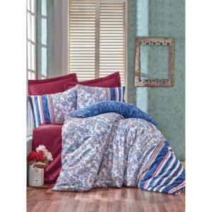Постельное белье Cotton Box Lorisa Mavi 200×220