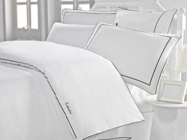 Постельное белье Cotton Box Mahur 200x220 (CB010077262) Белый фото