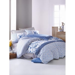 Постельное белье Cotton Box Milo Mavi 200×220