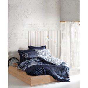 Постельное белье Cotton Box Pablo Lacivert 200×220