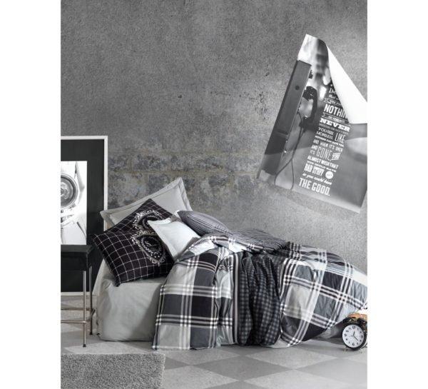 Постельное белье Cotton Box Ramos Antrasit 200x220 (CB010077501) Серый фото
