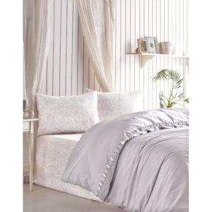Постельное белье Cotton Box Rita Gri 200×220