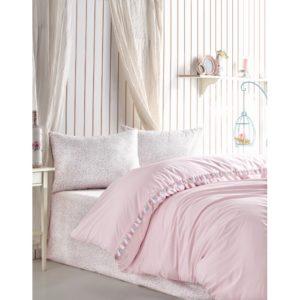 Постельное белье Cotton Box Rita Pudra 200×220