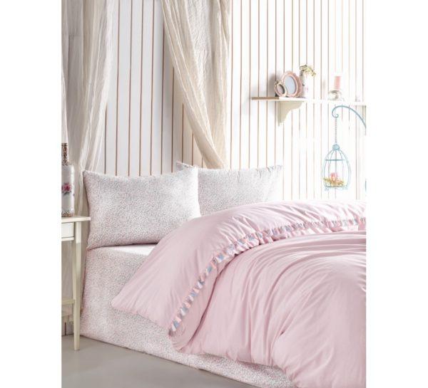 Постельное белье Cotton Box Rita Pudra 200x220 (CB010077503) Розовый фото
