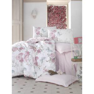 Постельное белье Cotton Box Rosella Pembe 200x220 (CB010077409) Розовый фото