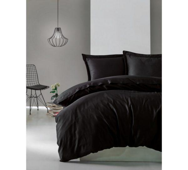 Постельное белье Cotton Box Siyah 200x220 (CB010077484) Черный фото