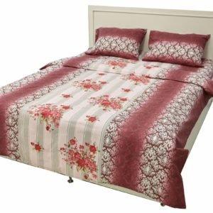 Постельное белье Rigel Ранфорс Розы Красные 200×220