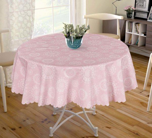 Скатерть Arya Adelina  (TR1005149-v) Розовый фото