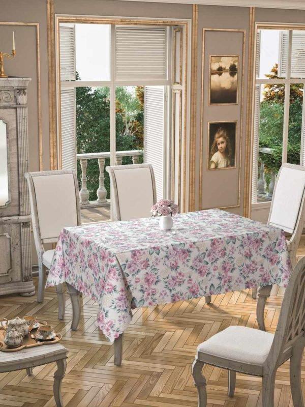 Скатерть Arya Emma  (TR1005138-v) Розовый фото