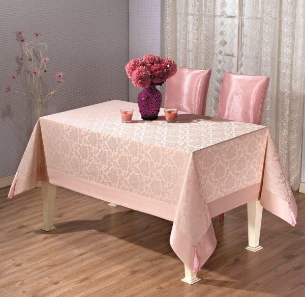 Скатерть Tabe Pcu95a 2278 160x220 (CB14003311) Розовый фото