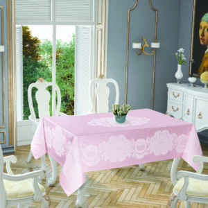 Скатерть Tropik Home Royal Pink 5699-4 150×220