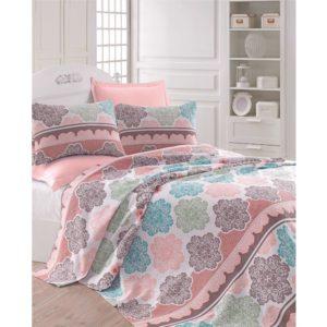 Покрывало пике Eponj Home Andalucia turkuaz 200x235 (sv-6000000109219) Розовый фото