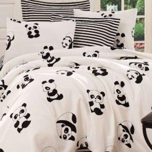 Покрывало пике Eponj Home B&W Panda siyah-beyaz  (sv-2000022187787-v) Черный