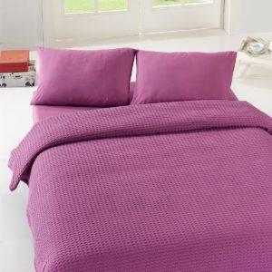 Покрывало пике Eponj Home Burumcuk murdum 200x235 (sv-2000022181648) Фиолетовый фото