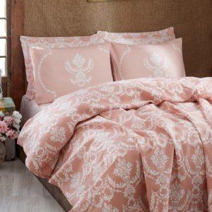 Покрывало пике Eponj Home Pure pudra 200x235 (sv-2000008479615) Розовый фото
