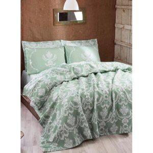 Покрывало пике Eponj Home Pure suyesil 160x235 (sv-2000022187800) Зелёный фото