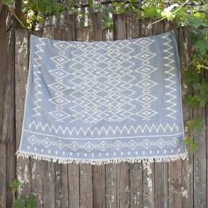 Покрывало Barine – Kilim Throw Denim 130×170