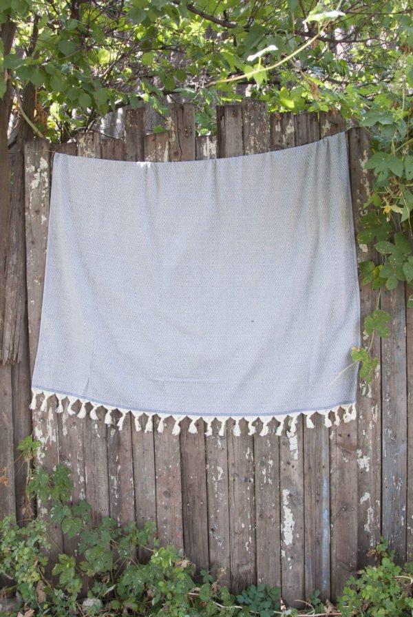 Покрывало Barine Stream Throw Teal 135x180 (sv-2000022079150) Серый фото