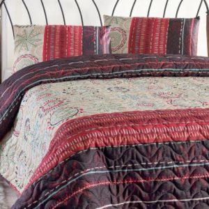 Покрывало Eponj Home Aries murdum  (sv-2000008463812-v) Красный|Фиолетовый фото