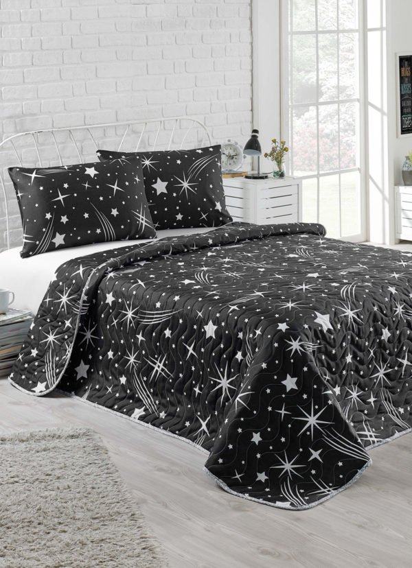 Покрывало Eponj Home B&W Halley siyah  (sv-2000022178310-v) Черный фото