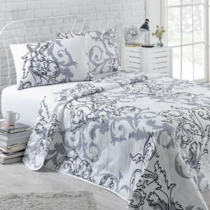 Покрывало Eponj Home B&W Mare beyaz 160×220