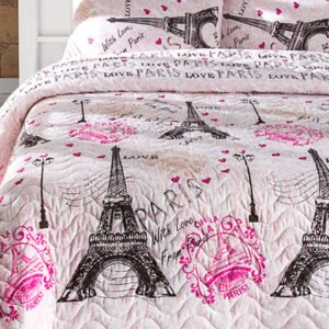 Покрывало Eponj Home Fromparis pembe 200×220
