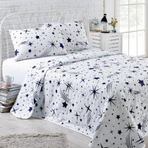 Покрывало Eponj Home Halley beyaz  (sv-2000022170574-v) Белый фото