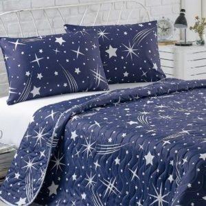 Покрывало Eponj Home Halley lacivert  (sv-2000022170581-v) Синий фото