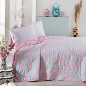Покрывало Eponj Home Pari 200x220 (sv-2000022095266) Розовый фото