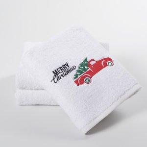 Полотенце Lotus Christmas Van 50×90